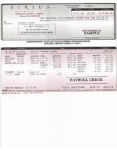 Payroll Check - click to enlarge